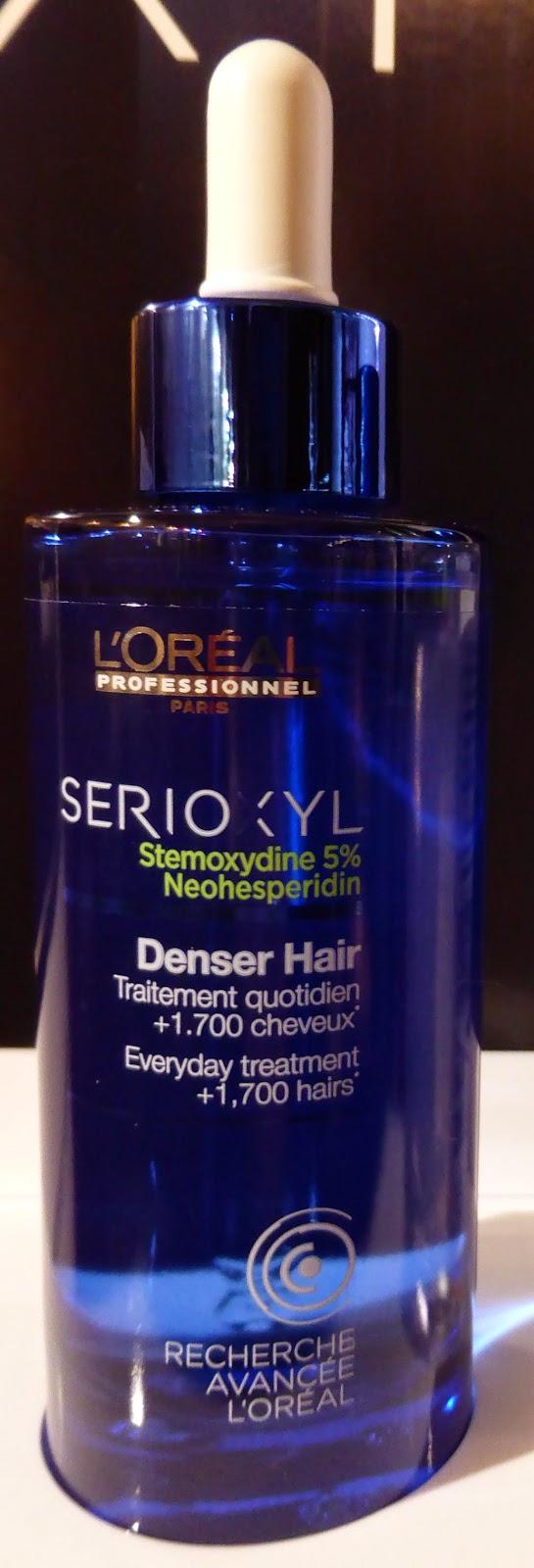 Serioxyl Denser Hair, + 1700 cheveux en 3 mois, L'Oréal Recherche Avancée.