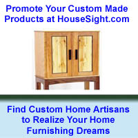 Find Custom Home Artisans at HouseSight.com