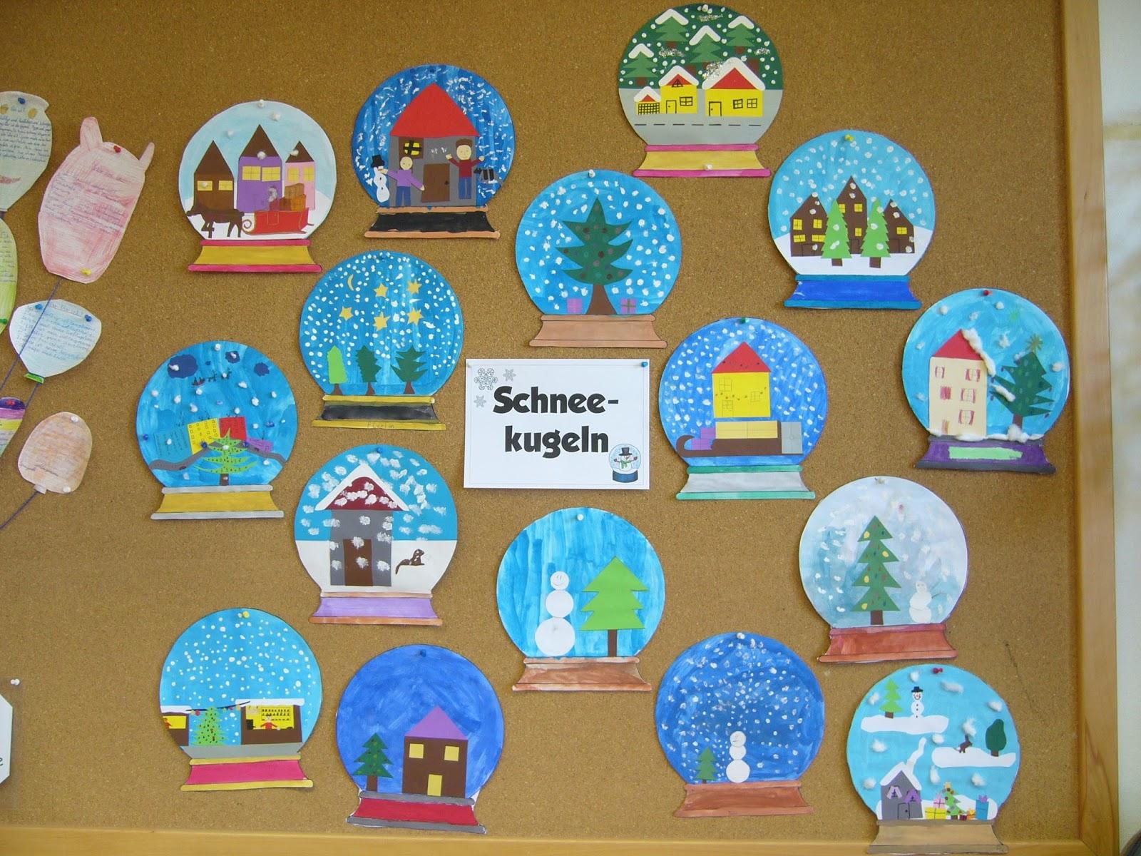 Ideenreise schneekugeln - Kindergarten weihnachtsbasteln ...