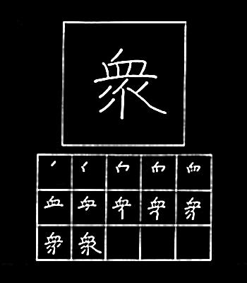 kanji banyak