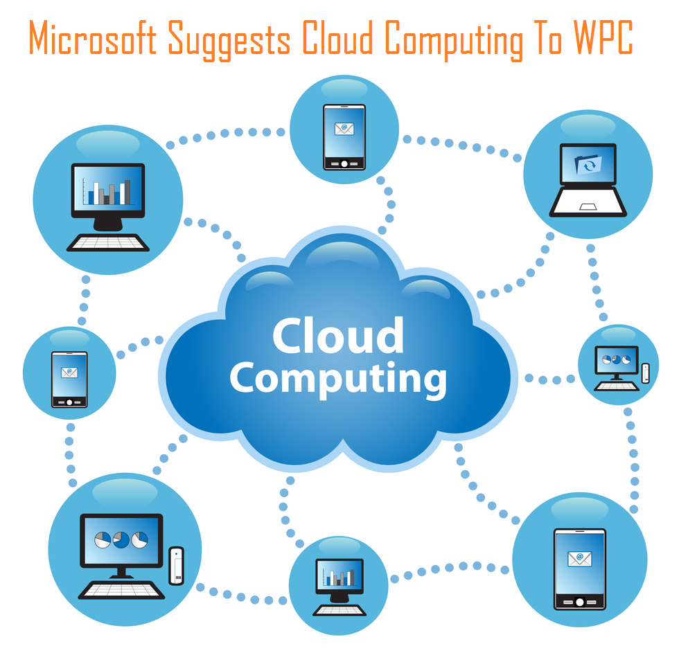 Microsoft Suggests Cloud Computing At WPC