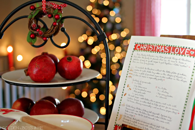 Pomegranates at Christmas-www.goldenboysandme.com