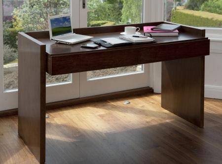 Laser Toner Cartridge Recycle Contemporary Walnut Desk Office