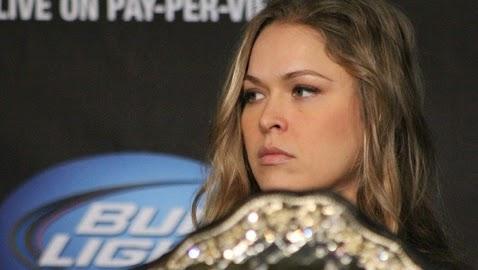 Ronda Rousey campeona de UFC, 135 libras