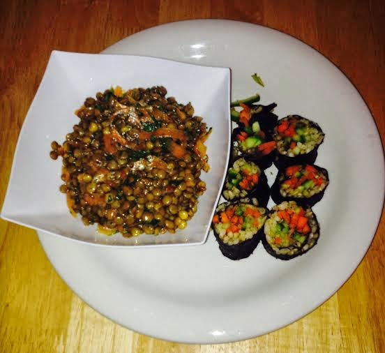 beachbody Ultimate Reset meals, sushi
