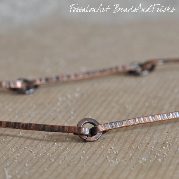 FossalonArt & BeadsandTricks dettaglio del girocollo