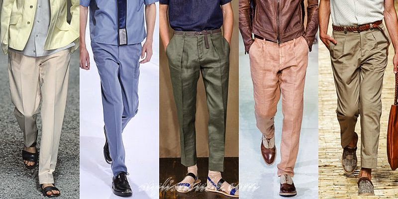 Summer 2014 Men's Pants Fashion Trends