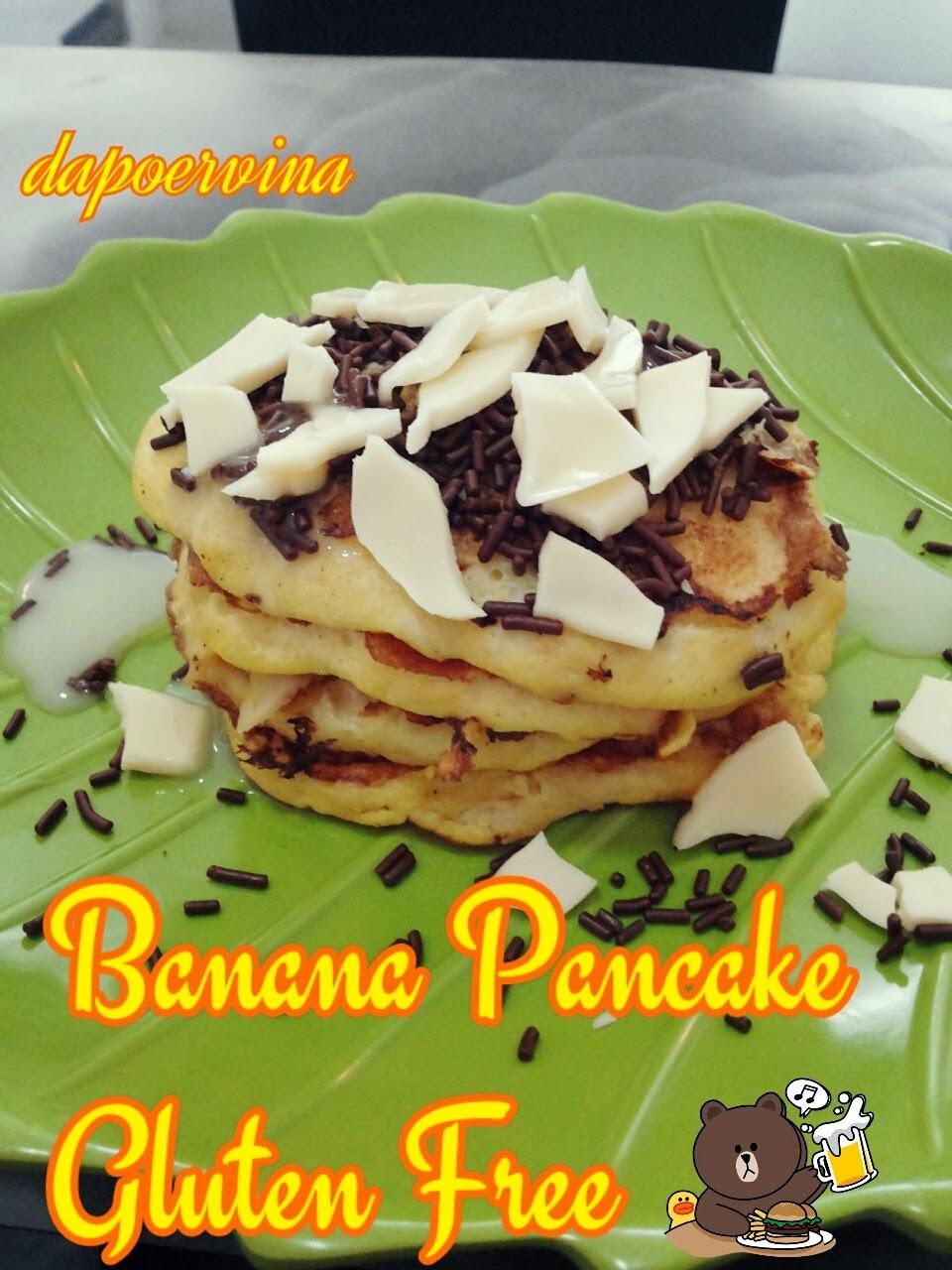 Dapoer Vina : Banana Pancake Gluten Free