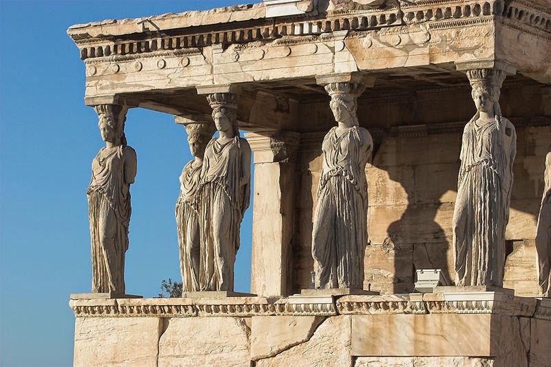 El Erecteion de la Acrópolis