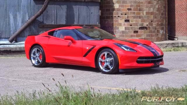 2014 Chevrolet Corvette Stingray Torch Red