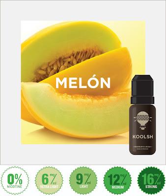 Eliquide pour ecigarette - melon