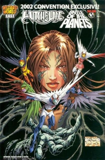 Witchblade special Comic Art Cover by Andy Park