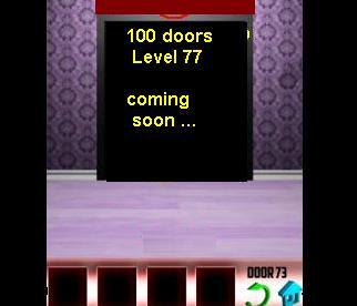 100 doors level 77