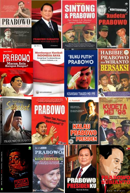Ini Dia Buku-Buku Tentang Prabowo Subianto