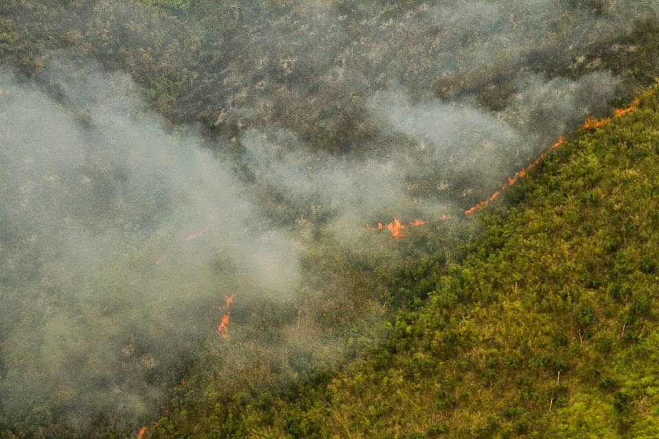 Rapu-Rapu bush fire