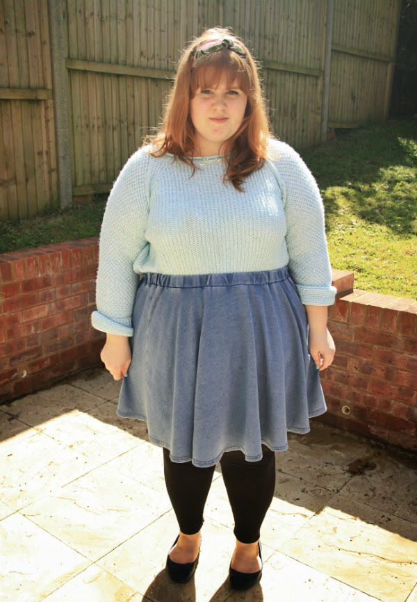 tatty devine, plus size fashion blog