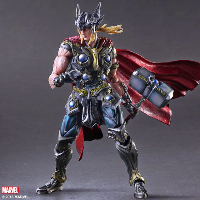 thor square enix action figure