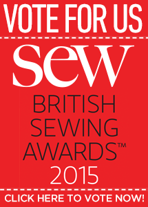We've Been Nominated For a British Sewing Award 2015