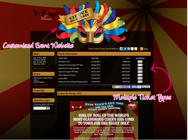 Example of Event Page