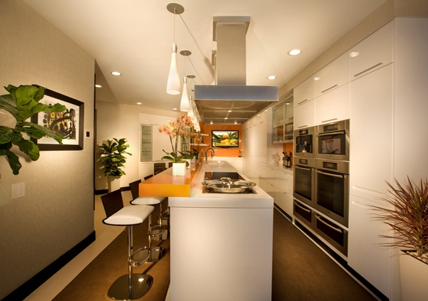 Inspirasi untuk Dapur Modern Berwarna Biru 2015 yg keren
