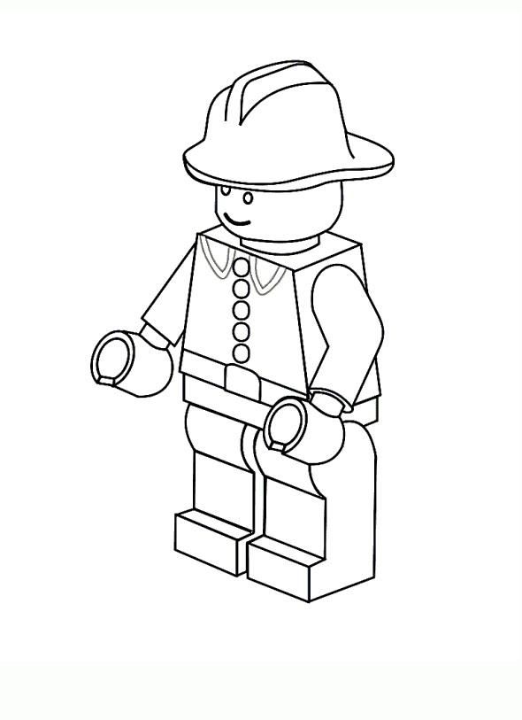 Desenhos Para Colorir E Imprimir Desenhos Da Lego Para