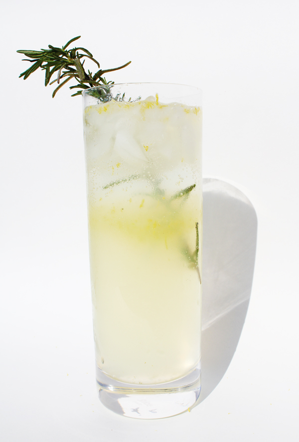 ... Bombed: Monday Morning Eye Opener: Lemon & Rosemary Gin Fizz