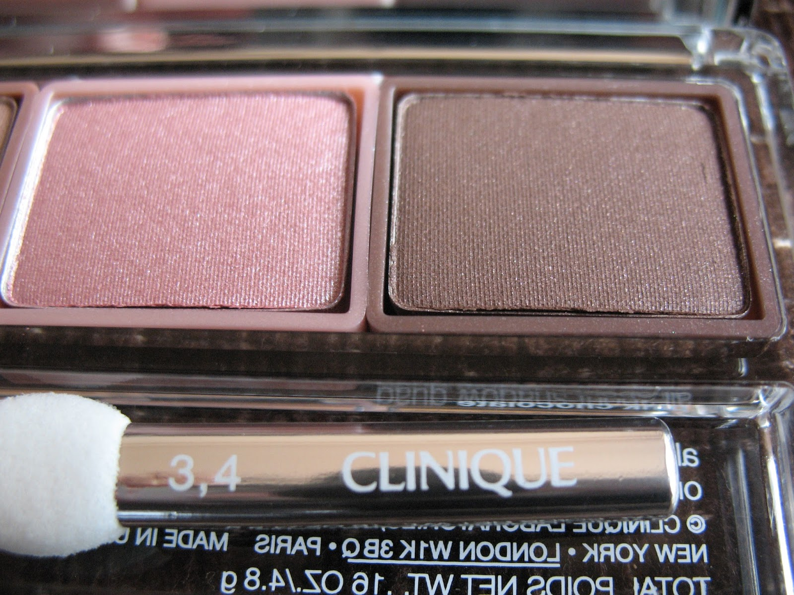 Clinique All About Shadow Quad 'Pink Chocolate' | review, photos - 010