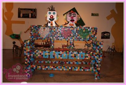 Exposição SucArte de Arte com sucatas em Santa Teresa