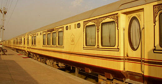 Palace on wheels,India