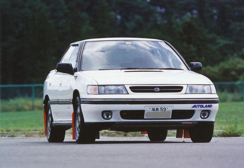 Subaru Legacy I-gen. 1989 1993 BC, BJ, BF, 日本車 チューニングカー スバル japoński samochód sedan boxer tuning zdjęcia