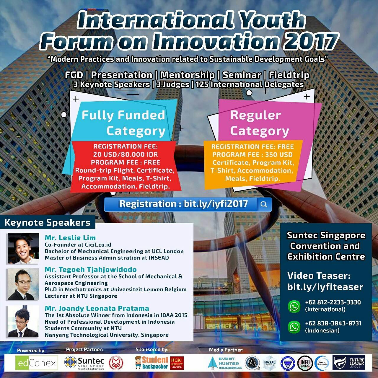 INTERNATIONAL YOUTH FORUM ON INNOVATION 2017