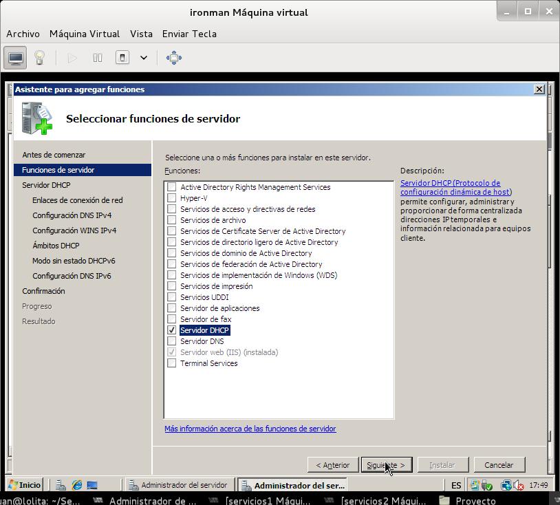 Configuración Servidor DHCP en Windows 2008 Server | El Blog de ...