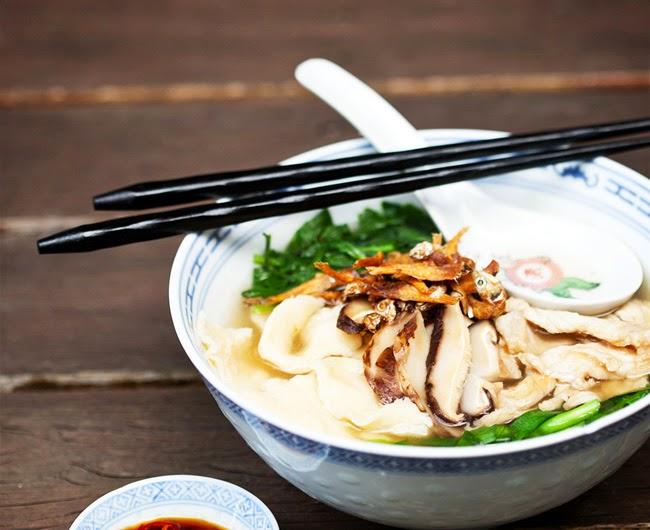 Soup Base Pan Mee | Malaysian Recipes