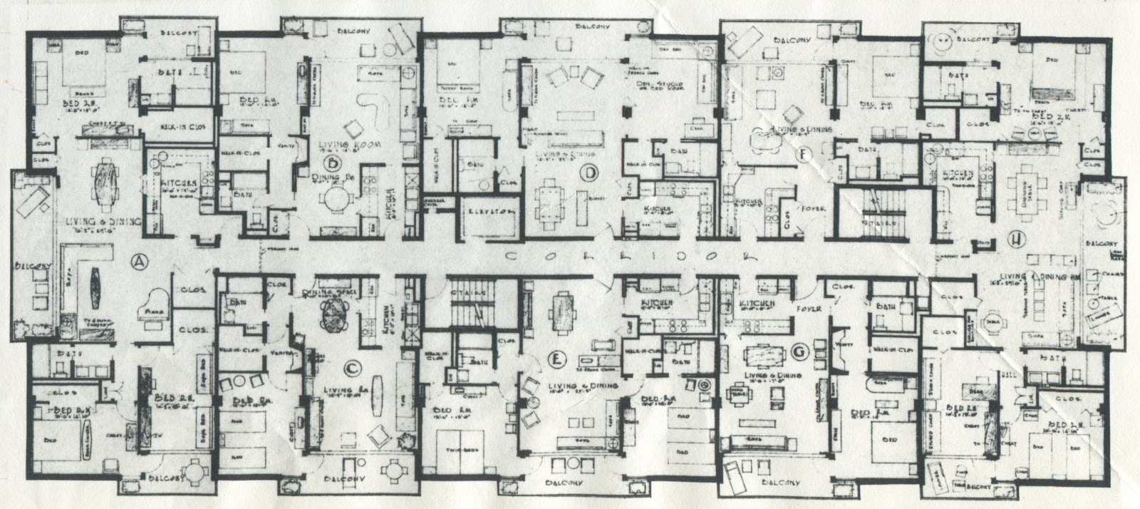 The Floor Plan Submitted For The Original Building The Floor Plan