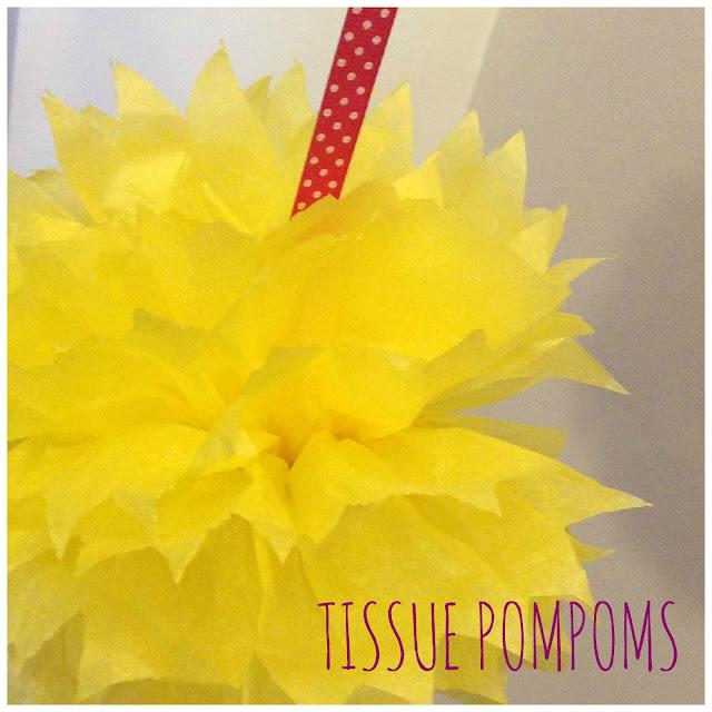 tissue pompoms