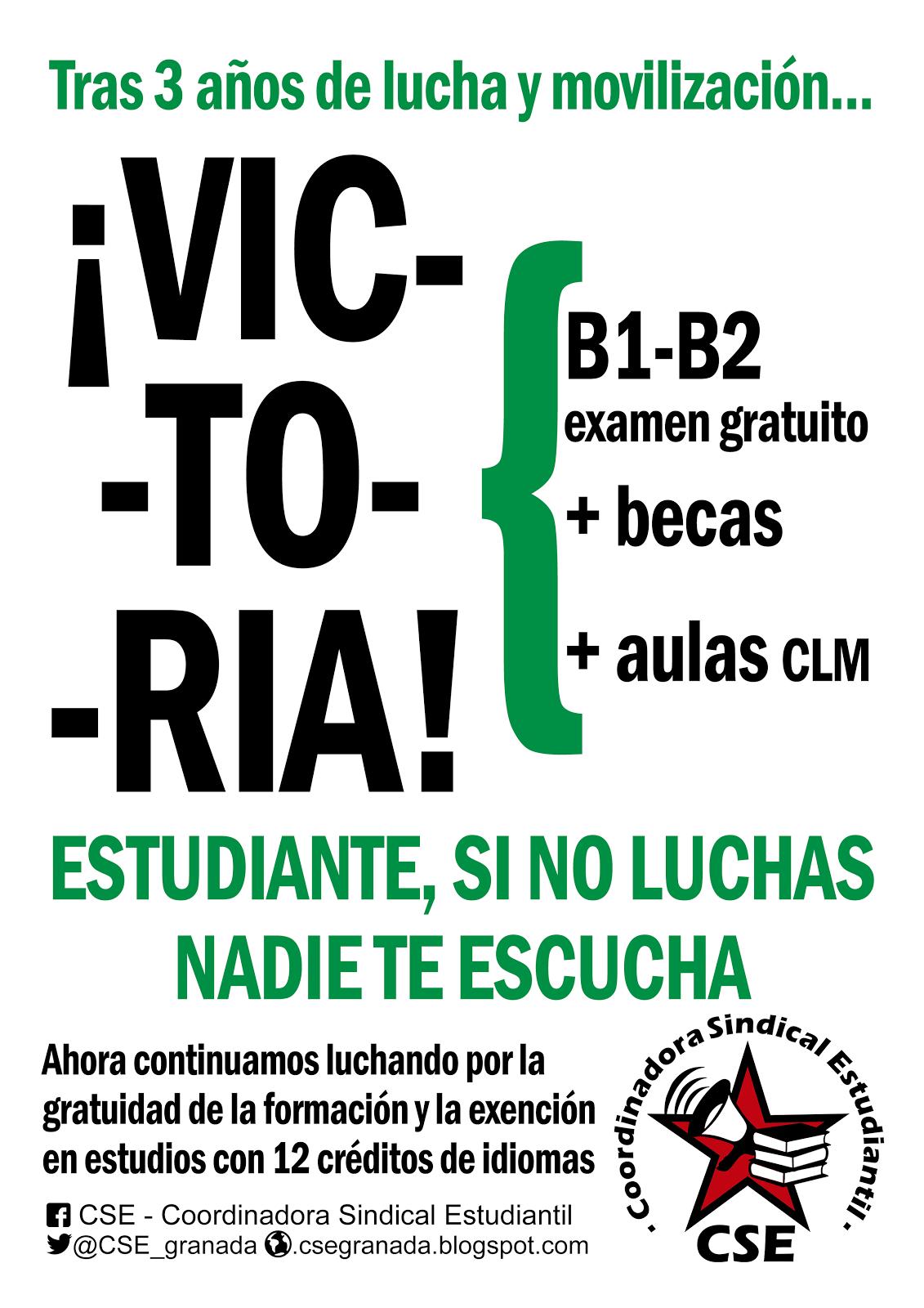 ¡Victoria! B1-B2 gratuito