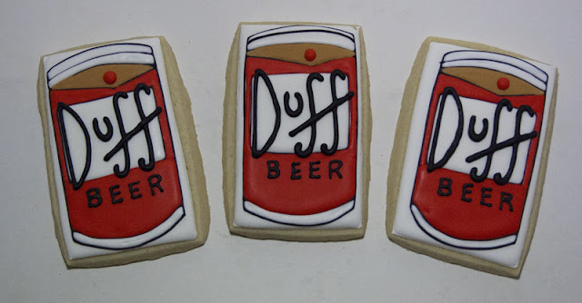 Duff beer cookies