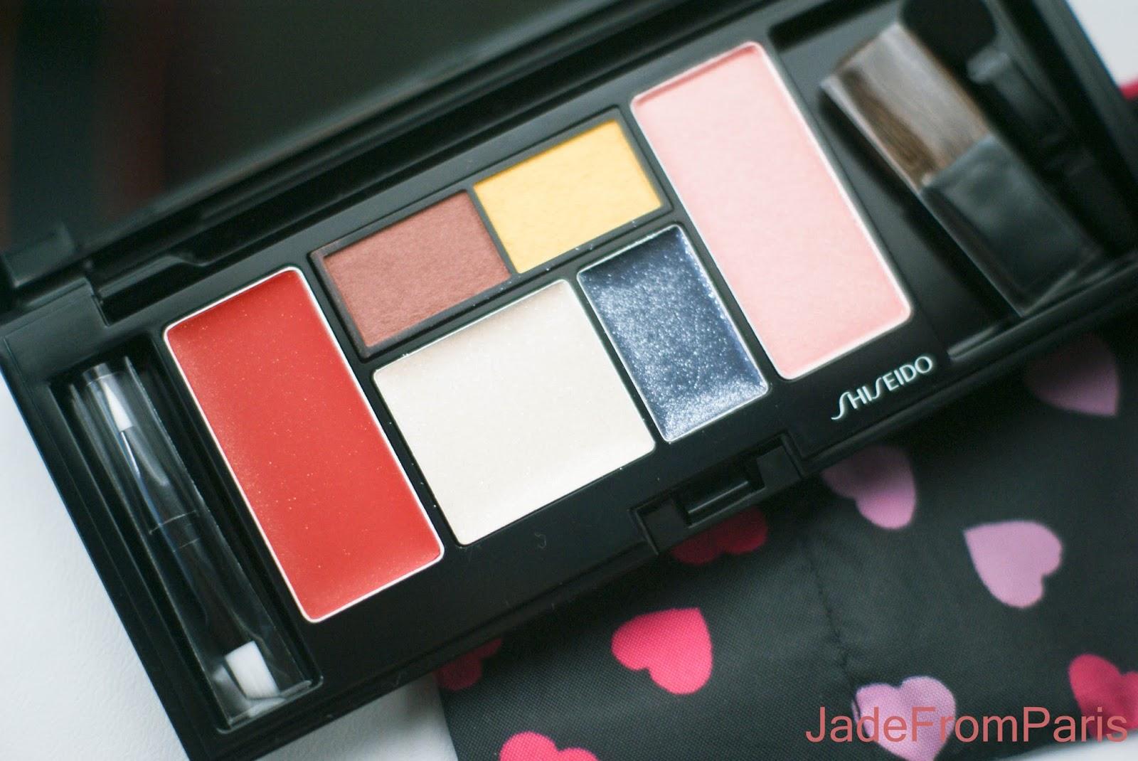 palette étincelante shiseido