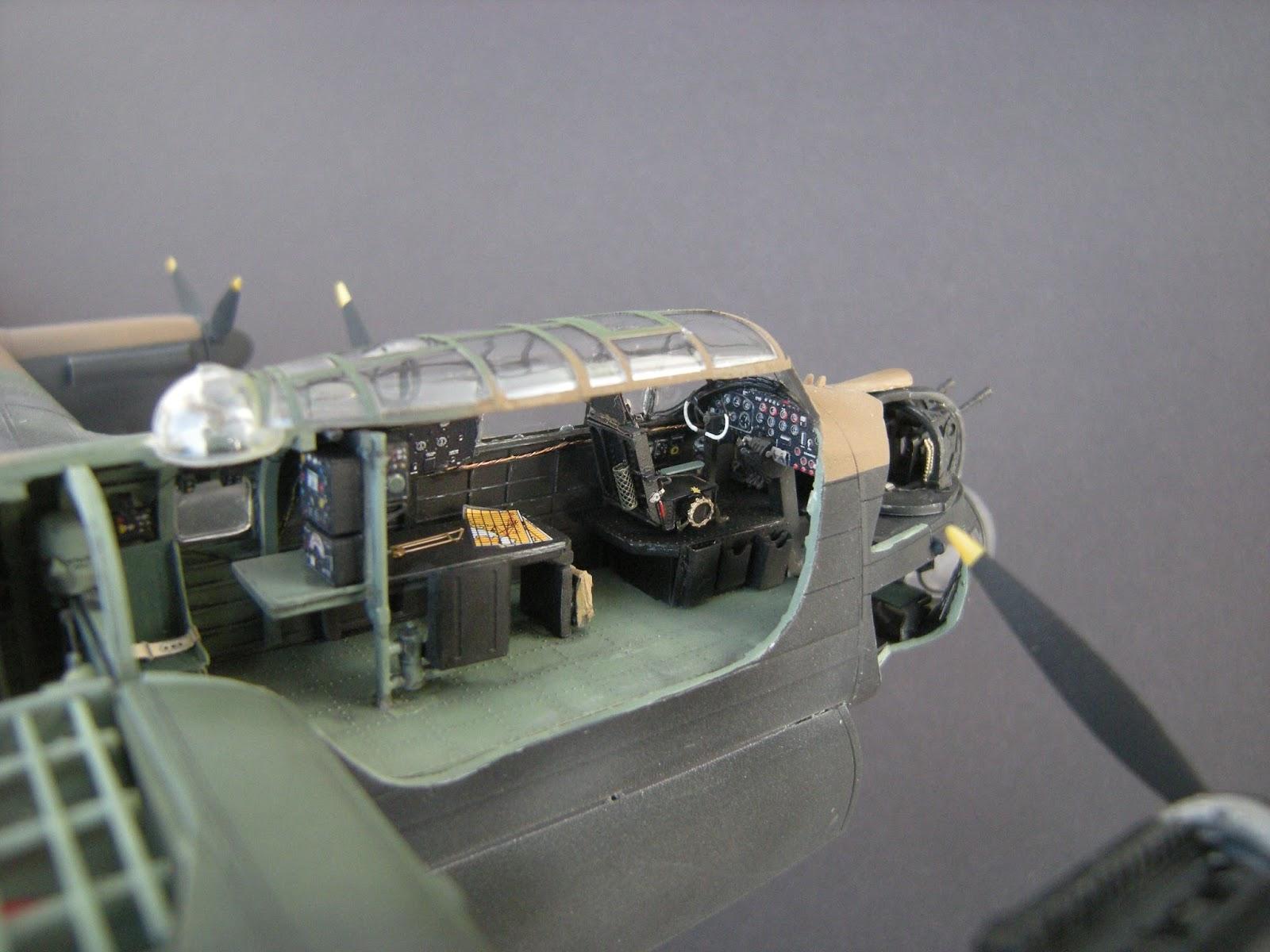 1 72 Scale Kits Amp Diorama Lancaster Biii Cutaway Interior