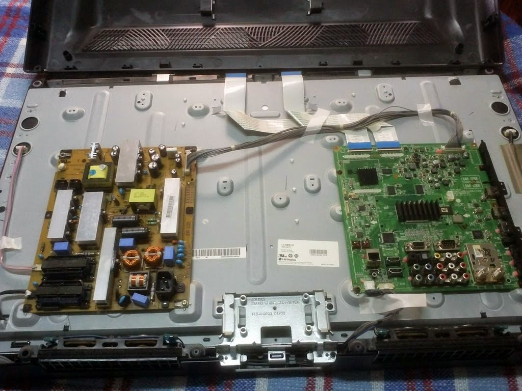 TV LG32LD650 conserto