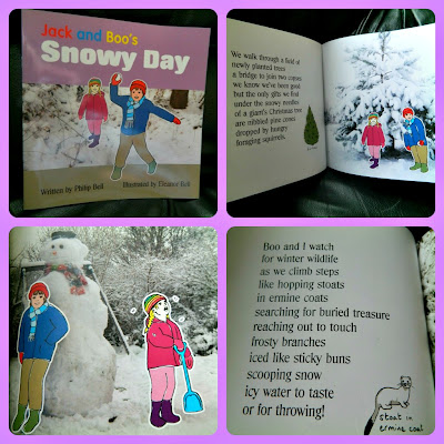 Jack Boo's Snowy Day Bell Beachy Books Boo