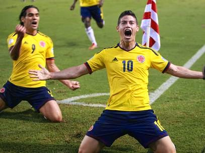James Rodríguez (Colombia) best players to Watch at FIFA World Cup 2014