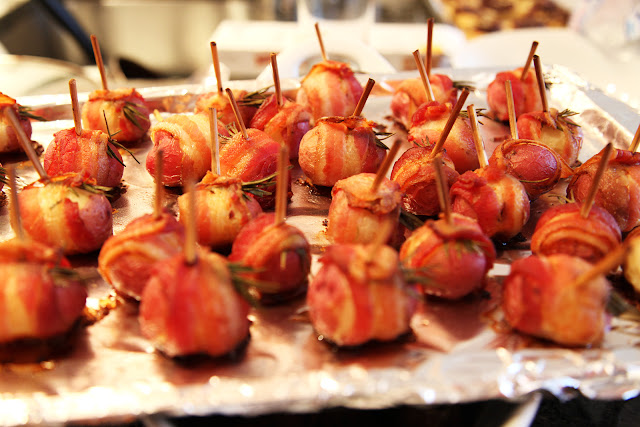 MadeForJen: Bacon-Wrapped Potatoes