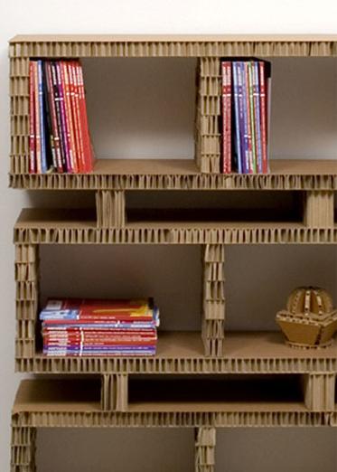 Home and things mobili di cartone - Mobili in cartone design ...