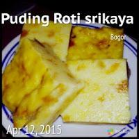 Resep Puding Roti Srikaya Mudah ala Bunda pipih nurhayati, cara membuat puding srikaya, bahan membuat puding roti