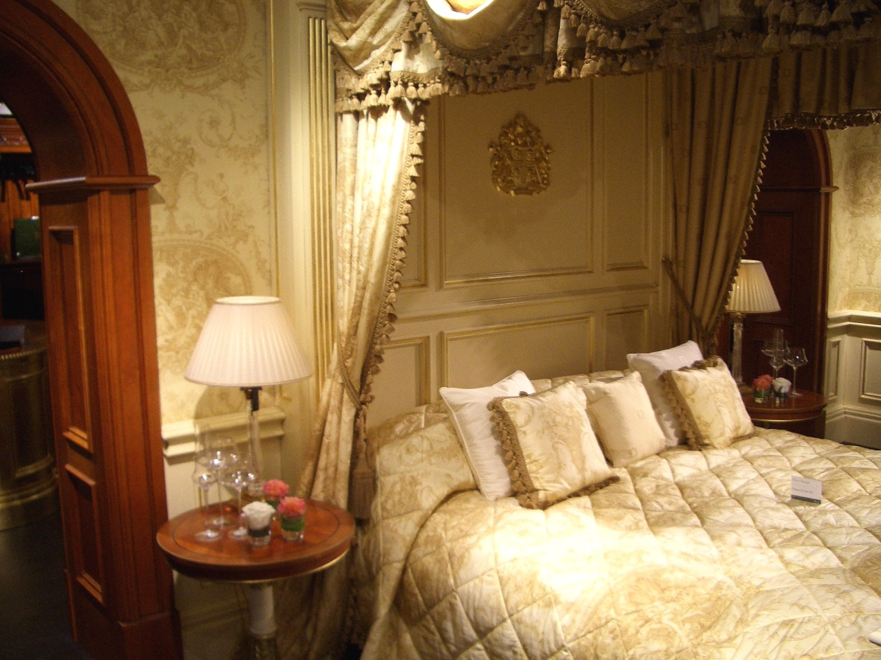TRADITION INTERIORS OF NOTTINGHAM Clive Christian Luxury Bedroom - Clive christian bedroom furniture