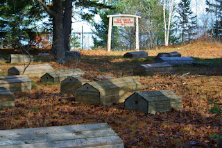 Old Indian Burial Ground, Bay Mills, MI