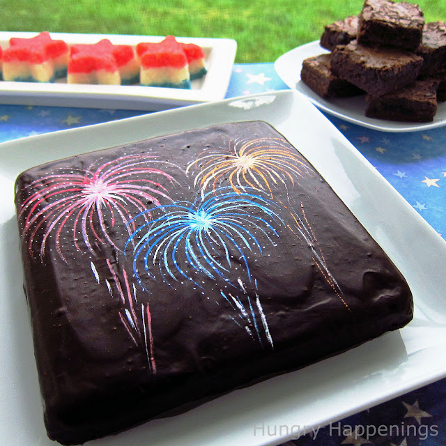 Add Some Fireworks To Your Brownies This 4th Of July