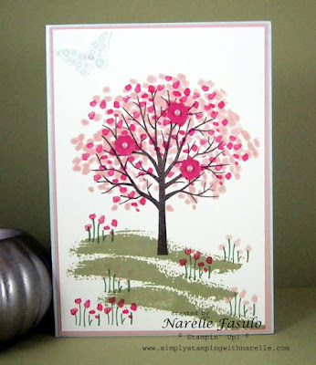 Narelle Fasulo - Independent Stampin' Up Demonstrator - Sheltering Tree