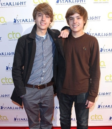 well here is dylan and cole sprouse then and now